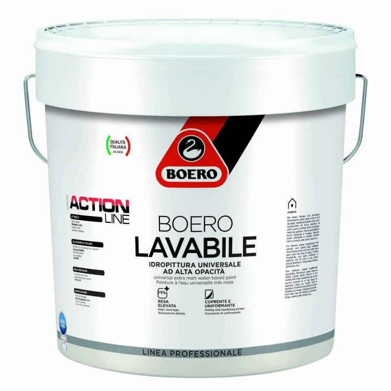 Pittura Per Interni Boero.Idropittura Lavabile Boerolavabile Bianco Lt 5 Boero Lauro Company
