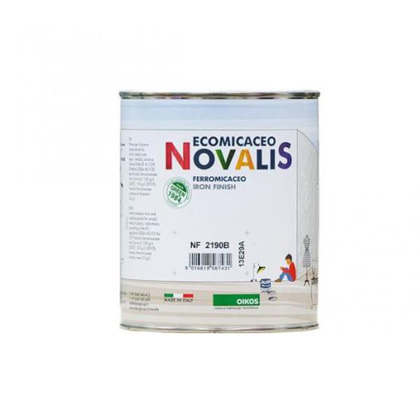 Novalis micaceo grigio lauro company for Oikos pitture cartella colori