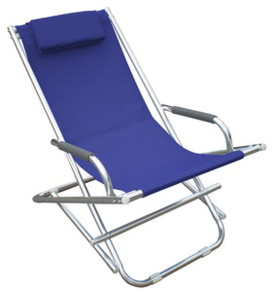 Playa sedia sdraio in alluminio lauro companylauro for Sedia sdraio