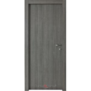 Porta con cornice cieca battente mod dea 1p lauro company - Porte interne rovere grigio ...