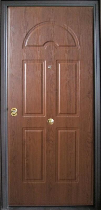 Porta blindata lauro company - Porta blindata esterno ...